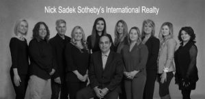 Nick Sadek Sotheby's International Realty Team