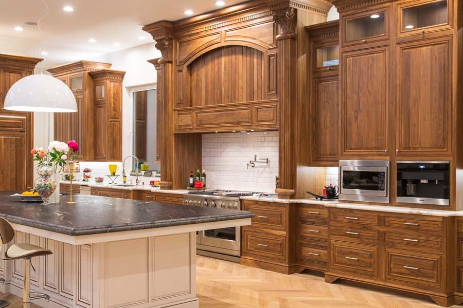 Chef's dream kitchen with energy efficient appliances