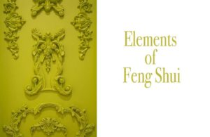 Elements of feng shui are used with the use of color