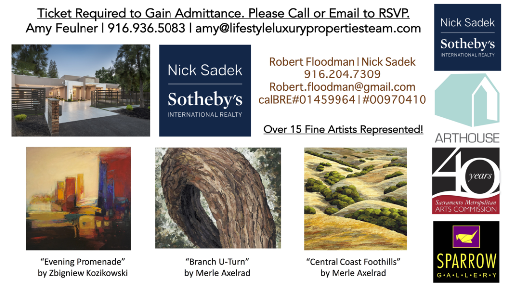 Come see local artwork displayed at this new net zero home in Sacramento