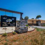 Blue Oaks Estates Winery - gated entrance