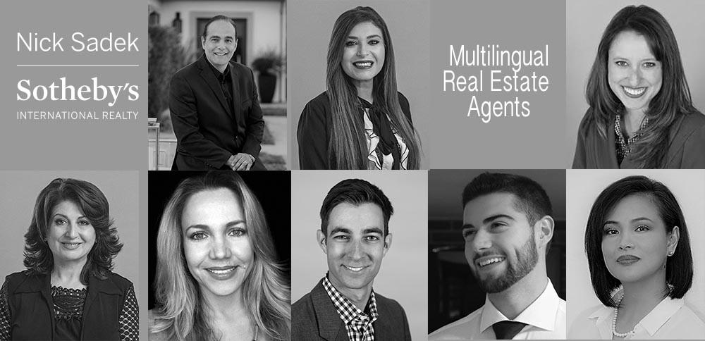 Nick Sadek Multilingual Real Estate Agents