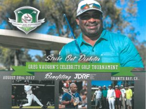 Greg Vaughn Celebrity Golf Tournament Granite Bay
