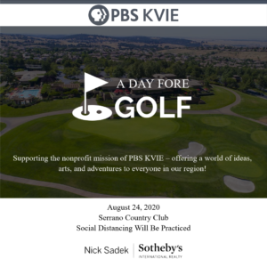 Event Promotion PBS KVIE A Day Fore Golf